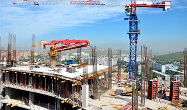 Строительство торгового объекта в городе ханты-мансийск.